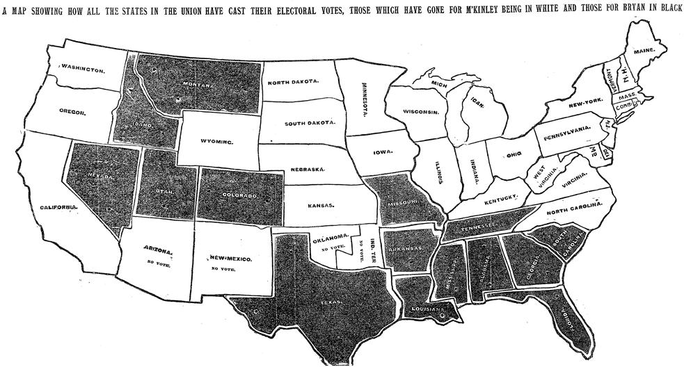Presenting Data: 1896 Map