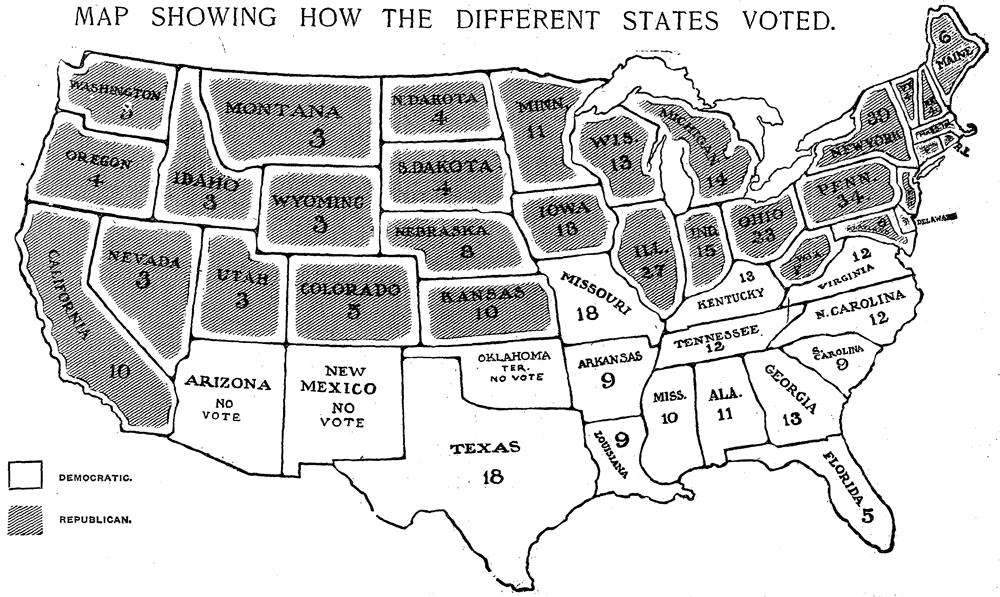 Presenting Data: 1904 Map