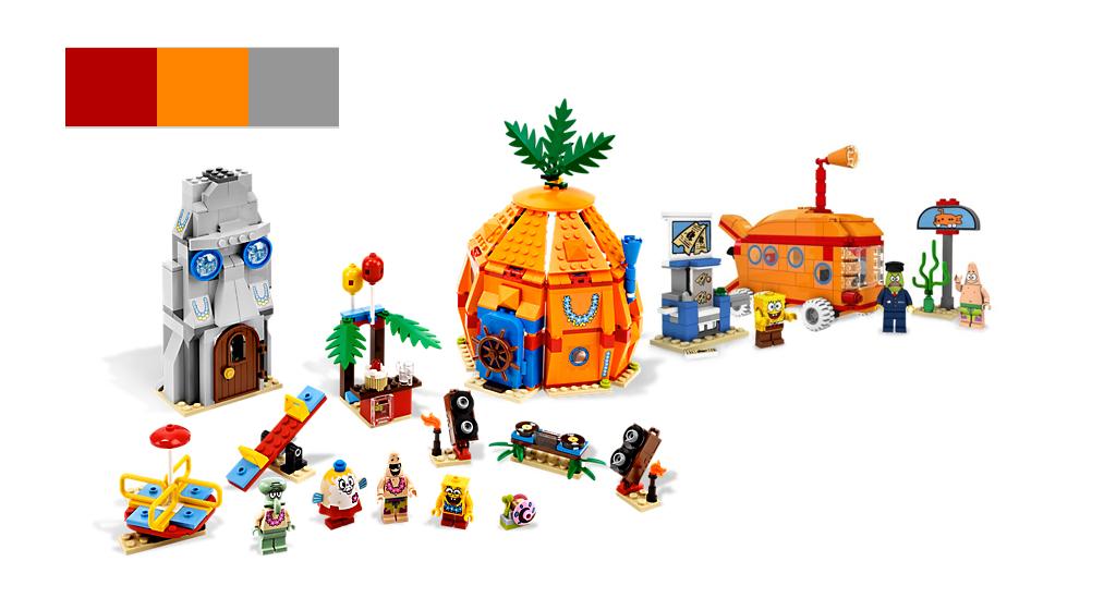 SpongeBob SquarePants Legos