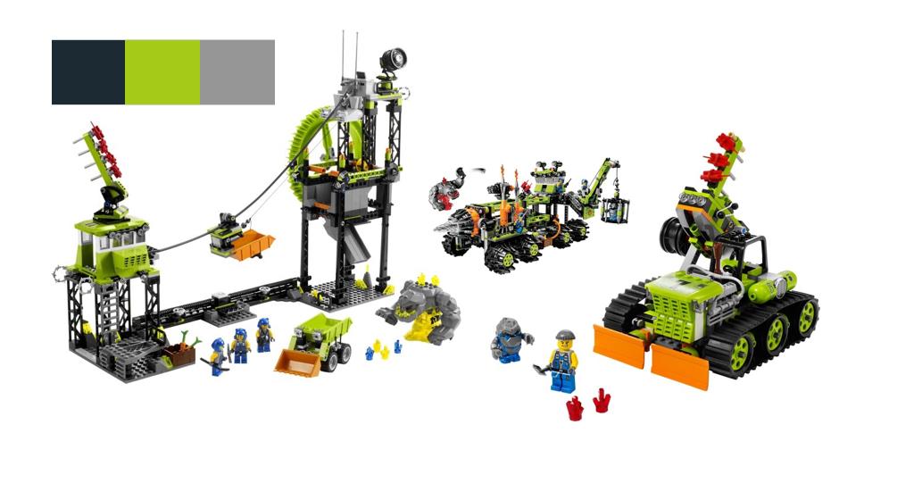 Power Miners Legos
