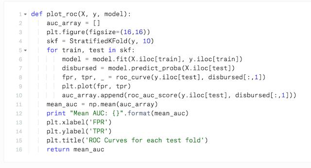 Python scikit-learn Code