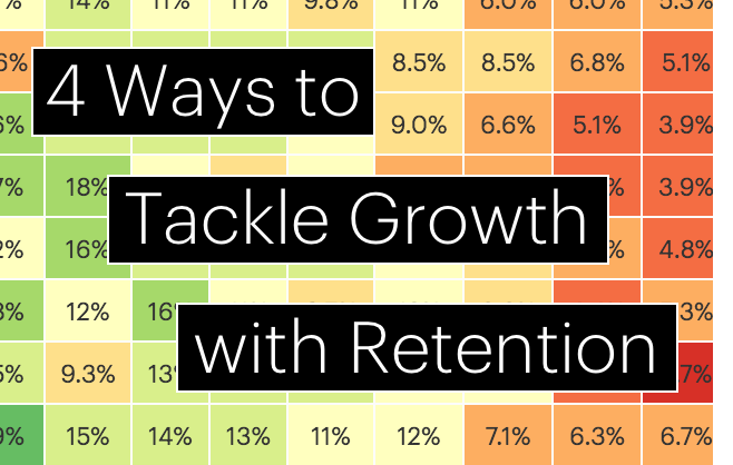 4 Ways to Tackle Growth with Retention