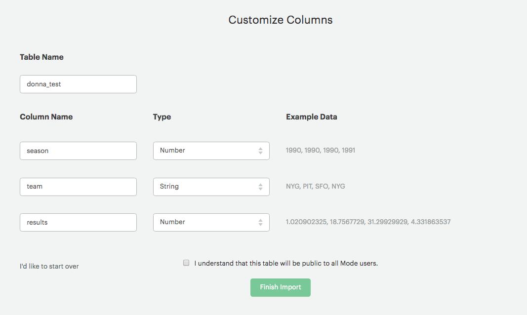Adding Public Data